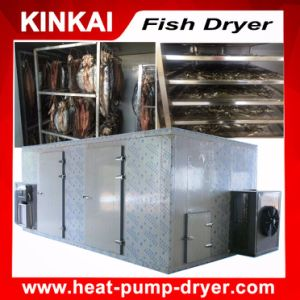 Hot Air Recycling Fish Dehydrator / Industrial Fish Drying Machine pictures & photos