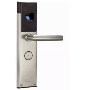 Waterproof Fingerprint Electronic Door Locks with Biometric Password Qr Code pictures & photos