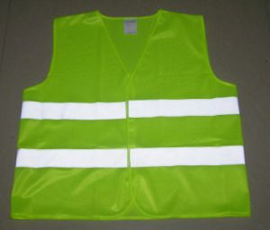Simple Cheap Custom Reflective Working Vest pictures & photos