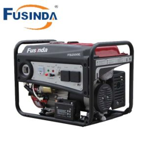 Fusinda 2000W 6.5HP Engine Electric Power Petrol Generator (set) pictures & photos