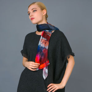Silk Digital Print Scarf pictures & photos
