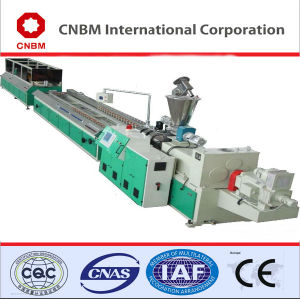 Durable WPC Profile Board Making Machine for Outdoor Fence, High Quality WPC Pallet Board Extruder, Hot Sale WPC Production Line pictures & photos