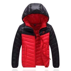 Outdoor Garments, Navy Ski Down Fleece Winter Jacket for Man pictures & photos
