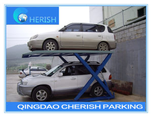 Hydraulic Scissor Vehicle Car Auto Parking Lift Made in China pictures & photos