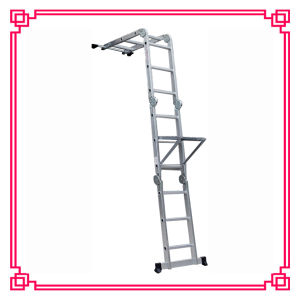 Aluminum Multi-Purpose Scaffold Ladder with Workfrom pictures & photos