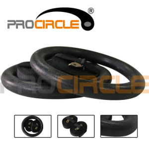 Olympic Exercise Fitness Crossfit Gymnastic Rings with Flexible Buckles (PC-GR1003) pictures & photos