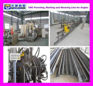 Tbl2020 CNC Angle Punching, Marking & Shearing Machine Line