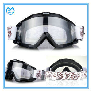 Adult Dust Proof Prescription Tear off Motorcycle Glasses pictures & photos