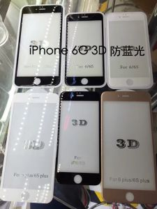 3D Full Cover Glass Screen Protector for iPhone6/6s/7/7plus pictures & photos