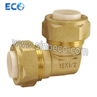 Brass 90 Degree Elbow Pipe Fittings for PPR pictures & photos