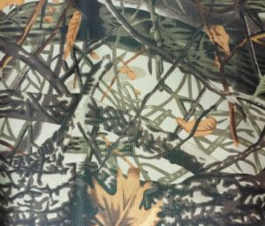 Jungle Camouflage Printed PVC Coated Fabric