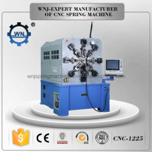 12 Axis CNC Spring Camless Machine