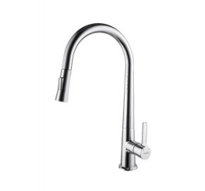 Single Lever Pull-out Sink Faucet (DH24) pictures & photos