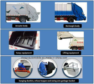 20 Cbm Garbage Collect and Transport Truck 6X4 Compressed Garbage Truck pictures & photos