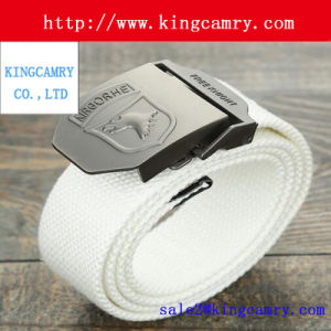 Professional Manufacturer Webbing Canvas Buckle Army Press Belt Buckle pictures & photos