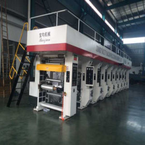 8 Color Rotogravure Printing Machine for Sale