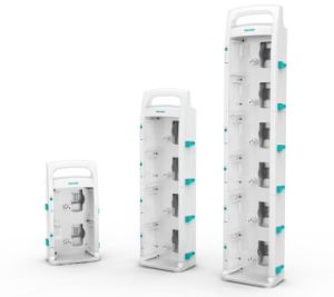 Medical Stackable System Docking Station of Hawkmed Infusion Pump pictures & photos