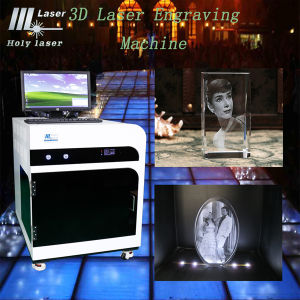 3D Laser Engraving Machine for Inside Printing Engraving pictures & photos