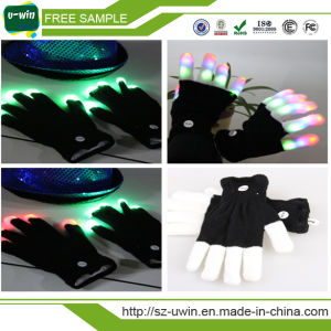 Flashing Lighting Gloves LED Colorful Rave Gloves pictures & photos