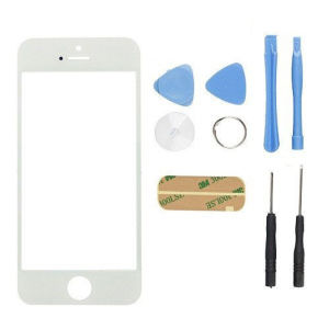 GS Replacement Spare Parts Front Glass for iPhone 5s Black and White