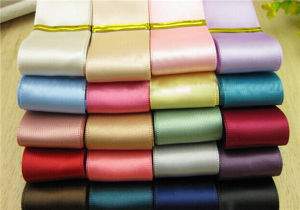 "25 Colors 50 Yards (25*2yd) 1/2"" Double Face Solid Satin Ribbon Multicolour Valued Packing"