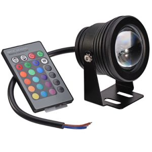 10W IP68 LED Underwater Light 3000k 6500k RGB Swimming Pool Fish Pond Lamp pictures & photos