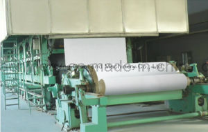 Culture Paper Machine for White Paper, Newspaper, Print Paper pictures & photos