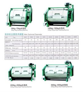 Horizontal Commercial Laundry Washing Machine Industrial Cleaning Machine (GX-10/400) pictures & photos
