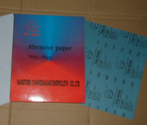 Zinc-Stearate Dry Abrasive Paper pictures & photos