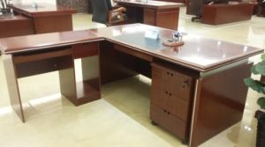 High Quality Modern Wood Veneer Office Table for Furniture pictures & photos