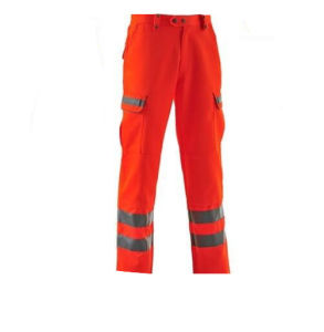 SGS Hi Vis Men Reflective Safety Cargo Pants Trousers pictures & photos