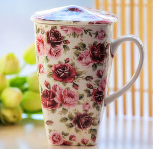 Beautiful Porcelain Gift Cup China Style Ceramic Cup pictures & photos