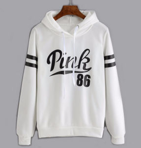Costomized Popular Long Sleeves Rubber Printing Women′s Hoodie pictures & photos