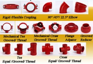Standard Ductile Iron Grooved Coupling and Fittings 8′′ pictures & photos