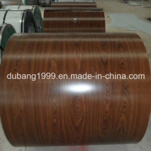 SPCC/SGCC/Dx51d PPGI Coils and Sheets/Wooden Pattern PPGI for Decoration Ral 3001 Ral9002 PPGI Coils Made in China