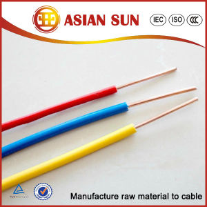 Top Quanlity 450/750V PVC Insulationelectrical Cable pictures & photos