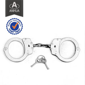Military Police Handcuff with Double Locking System pictures & photos