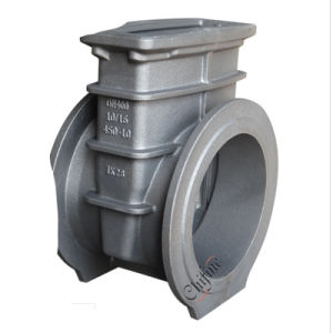 Casting Iron Valve Flange Connection by Casting Manufacturer pictures & photos
