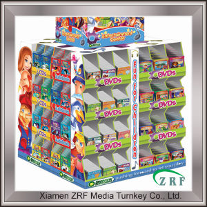 Colorful Printed Paper Perforated Display Rack Box pictures & photos