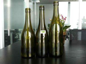 500ml Burgundy Wine Bottle with Lids