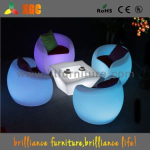 Hotel Chairs Lighted up Outdoor Furniture for Events