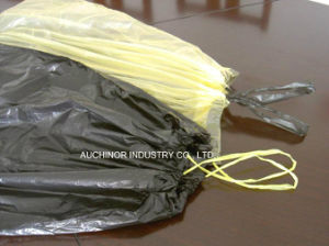 Custom Drawstring Trash Bags Plastic Garbage Bags with Tie String pictures & photos