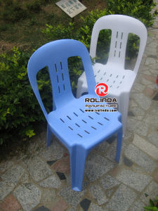 Plastic Chair Without Arm of Different Colors pictures & photos