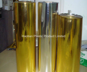 PVC Metallized Sheet Rigid Sheet PVC Film Plastic Film pictures & photos
