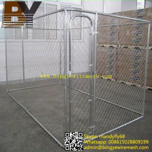 Chain Link Dog Kennel Dog Cage pictures & photos