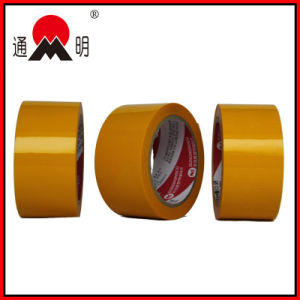Customized Logo and Color Yellow BOPP Packing Tape