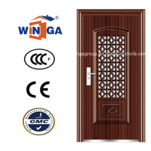 South Africa Market Security Safety Steel Security Doors (W-S-116) pictures & photos