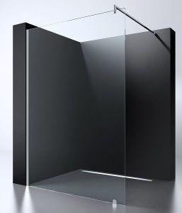 8mm 10mm Walk in Matt Glass Shower Screen Inloopdouche Duschwand pictures & photos