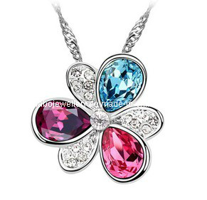 Glory Austrian Diamond Pendant Necklace (XJW12545) pictures & photos