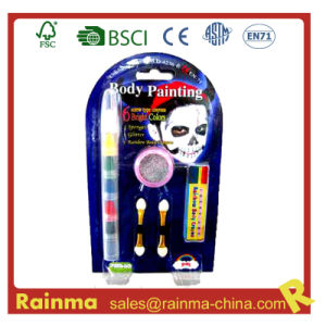 6 in 1 Body Painting Crayon for Halloween Decoration Gift pictures & photos